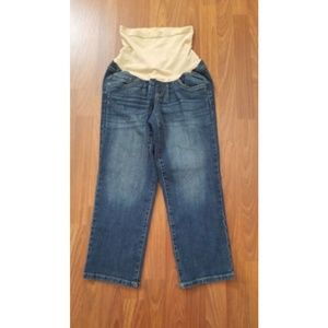 Oh Baby By Motherhood Maternity Denim Jeans M New